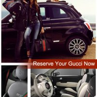 ONLY 500 GUCCI FIATS MADE....ORDER YOURS FROM SAFFORD FIAT OF FREDERICKSBURG TODAY!