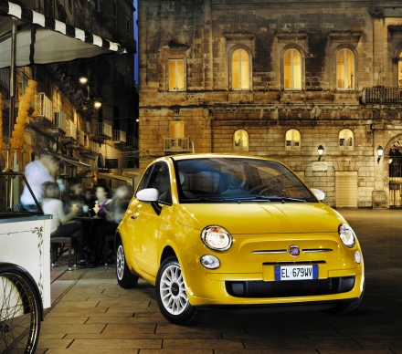 2013 fiat 500 lounge giallo
