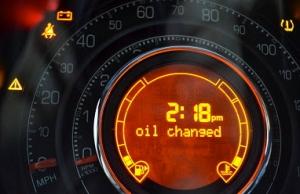 fiat 500 oil change